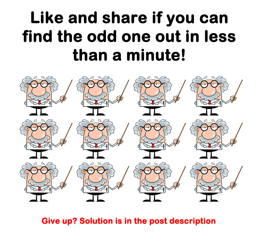 BrainDare.com - Like and share if you can find the odd one out in less ...